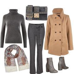 Classico con tocco trendy  outfit donna Trendy per tutti i giorni  1f6b74794d1