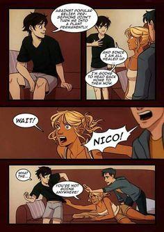 Nico spends the night 10