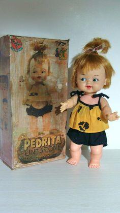 Boneca Antiga Pedrita Da Estrela Cx. Rest. Flinstones - R$ 345,00 no MercadoLivre