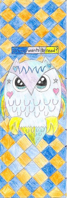 """""""Whoo Wants to Read?"""" by Shaina L. 