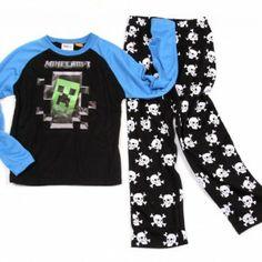 minecraft pj's i want these Minecraft Clothes, Minecraft Outfits, Minecraft Party, Minecraft Stuff, Minecraft Ideas, Cute Gifts, Pjs, Boy Fashion, My Boys