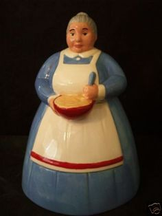 Granny Cookie Jar made in Mexico by  Treasure Craft