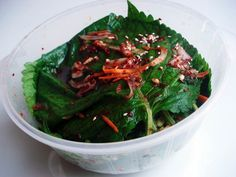 Perilla leaf kimchi (Kkaennip-kimchi) recipe - Maangchi.com