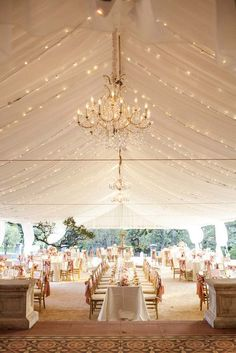 Wonderful Wedding Tent Ideas For A White Wedding ❤ See more: http://www.weddingforward.com/wedding-tent/ #weddings