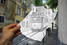 My new hero Ben Heine. multidisciplinary artist, art, pencil drawing, photography, political cartoonist, Belgian, pencil vs camera, digital circlism, project, the D-Photo, artwork, beautiful, creative, amazing, fantastic, awesome)
