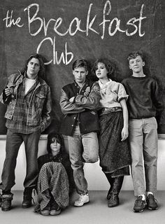 Being a child of the 80's, this will always be one of my top favorites. Film Serie, Classic Movies, Iconic 80s Movies, Movies Of The 80's, 1980's Movies, Movies And Tv Shows, Breakfast Club Quotes, The Breakfast Club, 80s Quotes