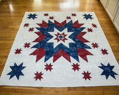 Land of the Free Quilt Pattern and Tutorial - Sewing 4 Free Star Quilt Patterns, Star Quilts, Quilt Blocks, Sewing Patterns, Star Blocks, Panel Quilts, Pattern Blocks, Craft Patterns, Quilting Projects