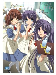 Clannad. Outfit for me and my dolls!
