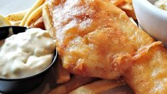 Fish and Chips New Recipes, Easy Recipes, Easy Meals, New Food Trends, Beer Battered Fish, Piece Of Bread, Recipe Ratings, Fish And Chips, Food Menu