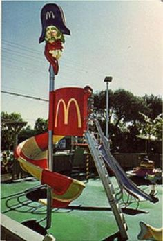 McDonalds on West Main had this slide.