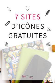 7 sites d'icônes Gratuites #icone #gratuite #design