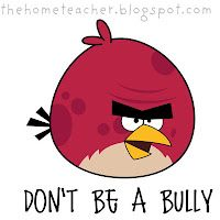 Don't be an Angry Bird - Lessons in Anger Management for kids - with pigs, slingshot, blue birds, big red bird, and the new ice bird
