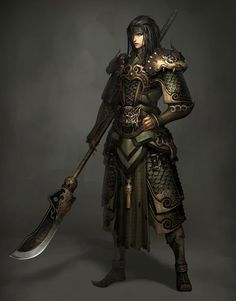 fantasy art character