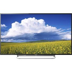 """Sony - 60"""" Class (60"""" Diag.) - LED - 1080p - 120Hz - Smart - HDTV - Front Zoom"""