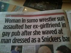 A headline you don't see everyday