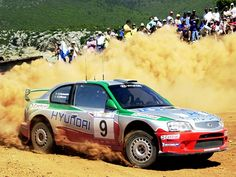 Hyundai Accent WRC Rally Car
