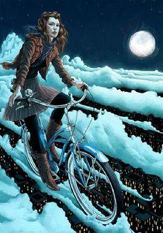 Nice #bicycle illustration by Rory Kurtz