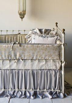bella notte bedding, bumper