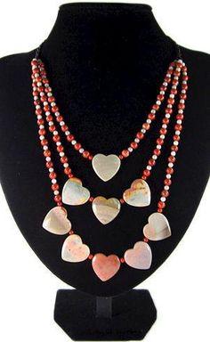 Women's Necklace-Succor creek jasper-pendant-bead