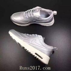 Nike Air Max Thea Women Men Silver