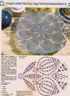 Kira scheme crochet: Scheme crochet no. 72