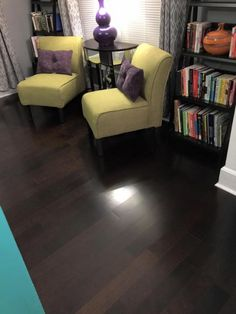 """""""We love the expensive look this flooring provides our home."""" [Aberdeen Birch]"""