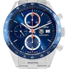 15729 Tag Heuer Carrera 40th Anniversary Legend Mens Watch CV2015 SwissWatchExpo