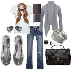 casual, created by nataliegrl on Polyvore