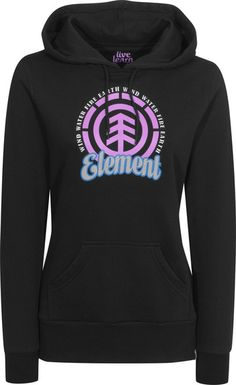 Element Clarity-Hooded Hooded-Sweatshirt black | Titus Onlineshop