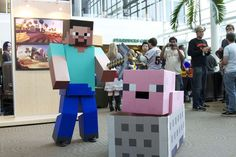 The Most Amazing Minecraft Costumes You'll Ever See