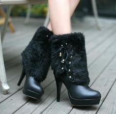 4b0c575d06d2 frugal The leading design-High Heels Boots - stylishplus.com Platform Ankle  Boots