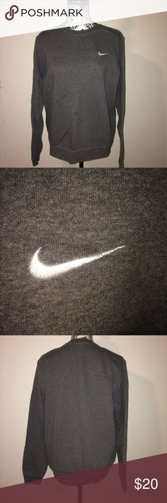 Nike pullover sweatshirt Men's medium. Bought for myself but the neckline is too high for my liking. Great condition. Nike Shirts Sweatshirts & Hoodies