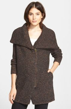 Joie 'Maurise' Alpaca Blend Zip Cardigan available at #Nordstrom