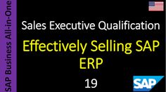 SAP - Course Free Online: 19 - Effectively Selling SAP ERP