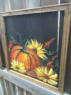 Fall DecorPersonalize this for your by RebecaFlottArts on Etsy