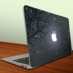 MacBook Air MacBook Pro -13-Inches Vinyl, Removable Skin - Apple Night Sky by Victory, http://www.amazon.com/dp/B008YVQ5AQ/ref=cm_sw_r_pi_dp_Xkq7qb18S7688