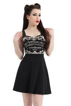 Ouija Skater Gothic Summer Dress by Jawbreaker Gothic Fashion d6e3e3d42bad