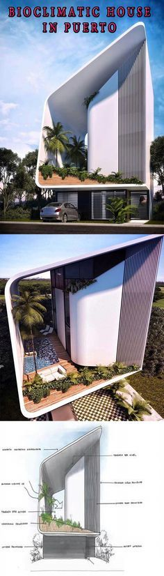 bioclimatic house in Puerto