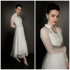 This is a very special dainty and lovely lace 40s strappy dress with a matching lace jacket, and matching full slip. A very good price for three beautiful vintage pieces.  The lace is delicate and fine but very wearable, these dainty lace vintage dresses need a good quality vintage fitted slip to set them off, and give the skirt body and swing, as they are often lightweight. The slip is like a little underdress and is a lovely example of its kind.  I have found the perfect 40s fitted slip to…