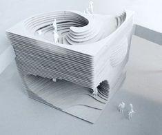 SIA Pavillon, Lausanne A project by: Frei + Saarinen Architekten Conceptual Architecture, Paper Architecture, Stairs Architecture, Organic Architecture, Architecture Drawings, Interior Architecture, Architecture Diagrams, Architecture Portfolio, Architectural Section