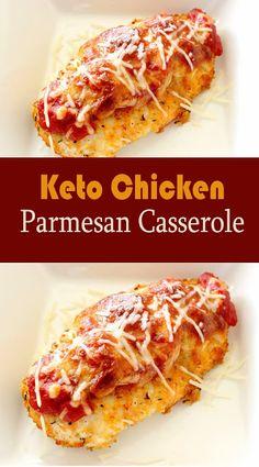 Keto Chicken Parmesan Casserole Recipe - NEW RECIPES