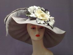 Derby Hat Kentucky Derby Hat Garden Party Hat by crowninglorihats, $109.95