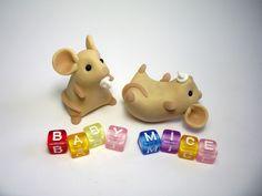 Baby Mice   par QuernusCrafts
