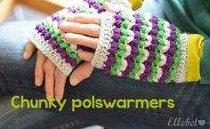 Chunky polswarmers - Ellebel