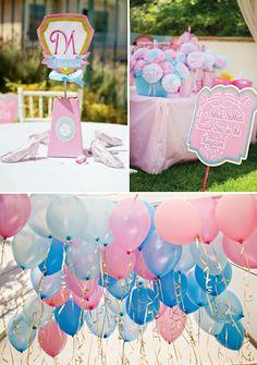 A Bibbidi Bobbidi Beautiful Cinderella Birthday // Hostess with the Mostess®