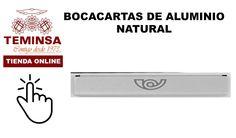 Bocacartas de Aluminio Natural Teminsa Tienda Online