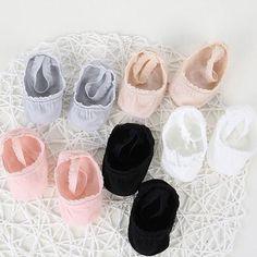 76640e14d72 Nonskid Baby Girl Socks Antislip Toddler Infants Socks Baby Princess Sock  for 036 Month 5 Pair