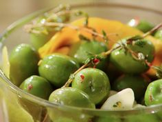 Get this all-star, easy-to-follow Citrus Marinated Olives recipe from Valerie Bertinelli