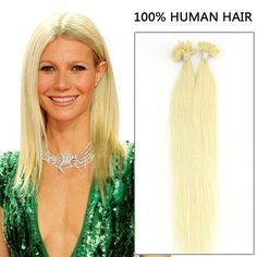 20 Inch 100s Discounted Straight Nail/U Tip Human Hair Extensions #24 Light Golden Blonde 100g Pre Bonded Hair Extensions, Fusion Hair Extensions, Human Hair Extensions, Virgin Remy Hair, Remy Human Hair, High Ponytails, Full Hair, Golden Blonde, Fancy Hairstyles