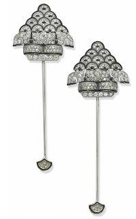 ART DECO: pin jabots las piezas más versátiles de la joyería